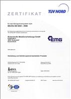 Zertifikat 9001 Symbol